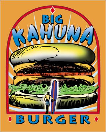 Big Kahuna Burger - The Quentin Tarantino Archives