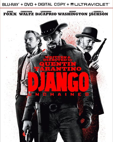 Django Unchained BluRay, US version