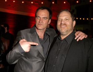 Tarantino and Harvey Weinstein