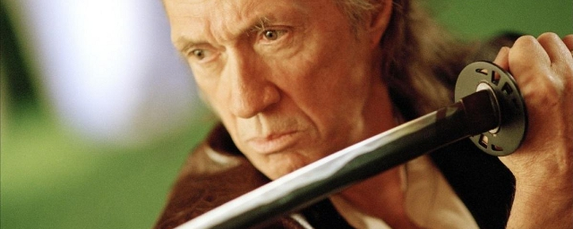 David Carradine as Bill in Kill Bill