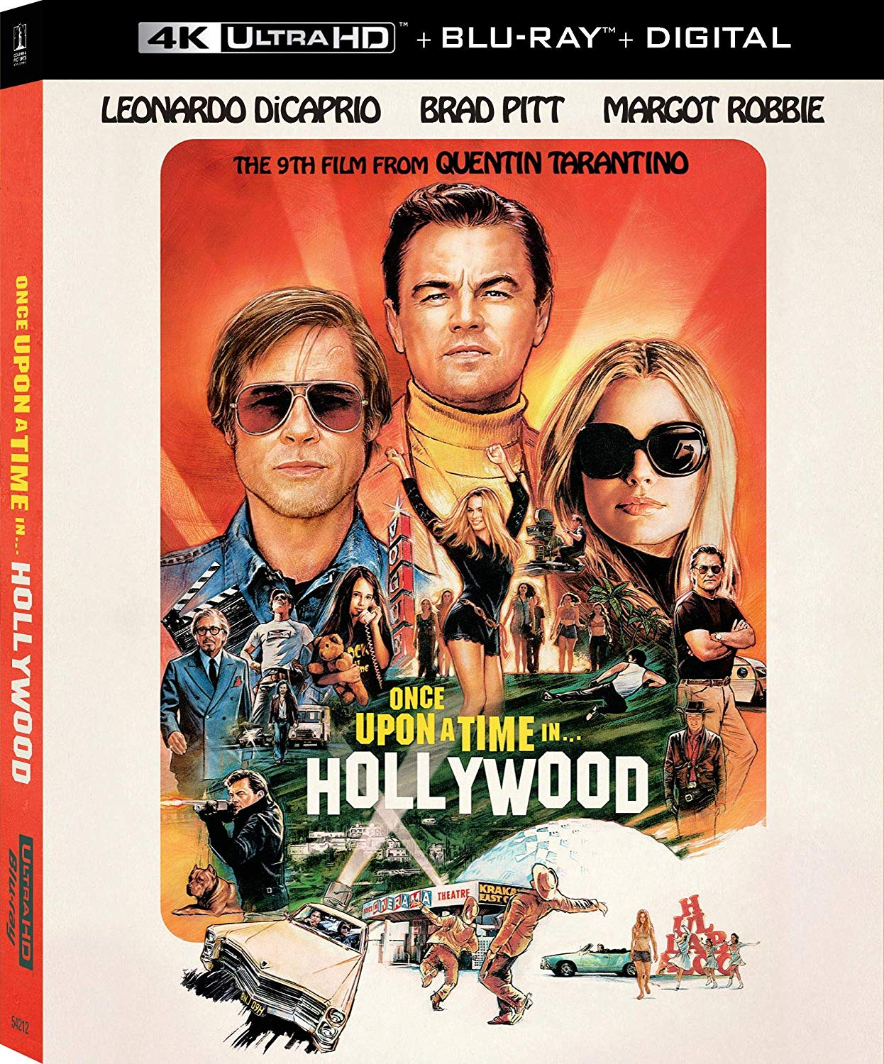 Once Upon a Time in Hollywood BluRay DVD