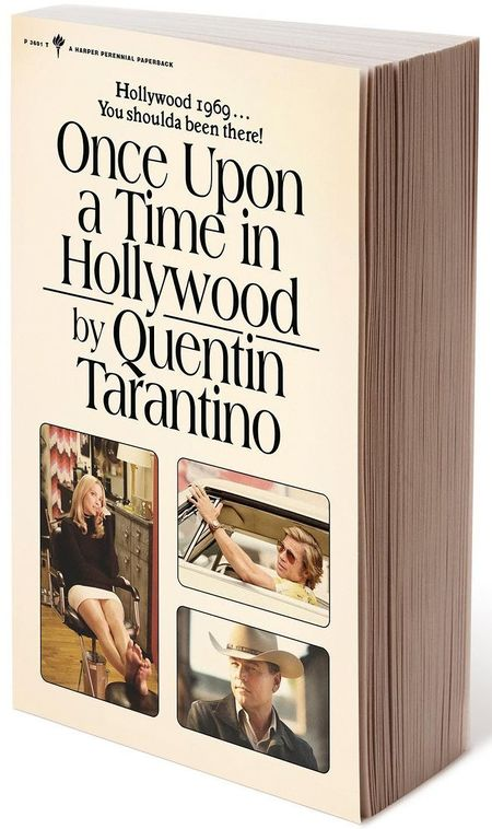 Once Upon a Time in Hollywood The Novel